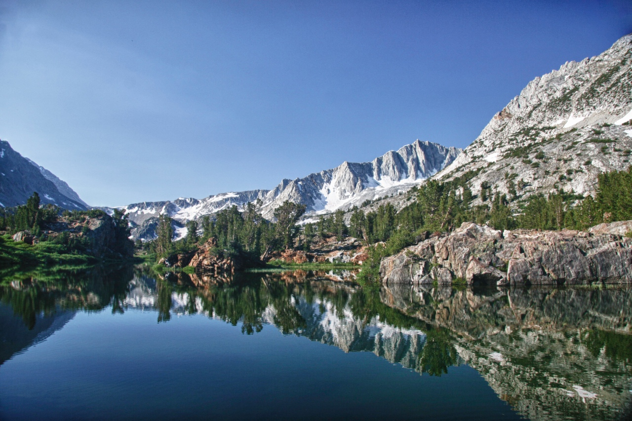 Long Lake Reflection – Eastern Sierras