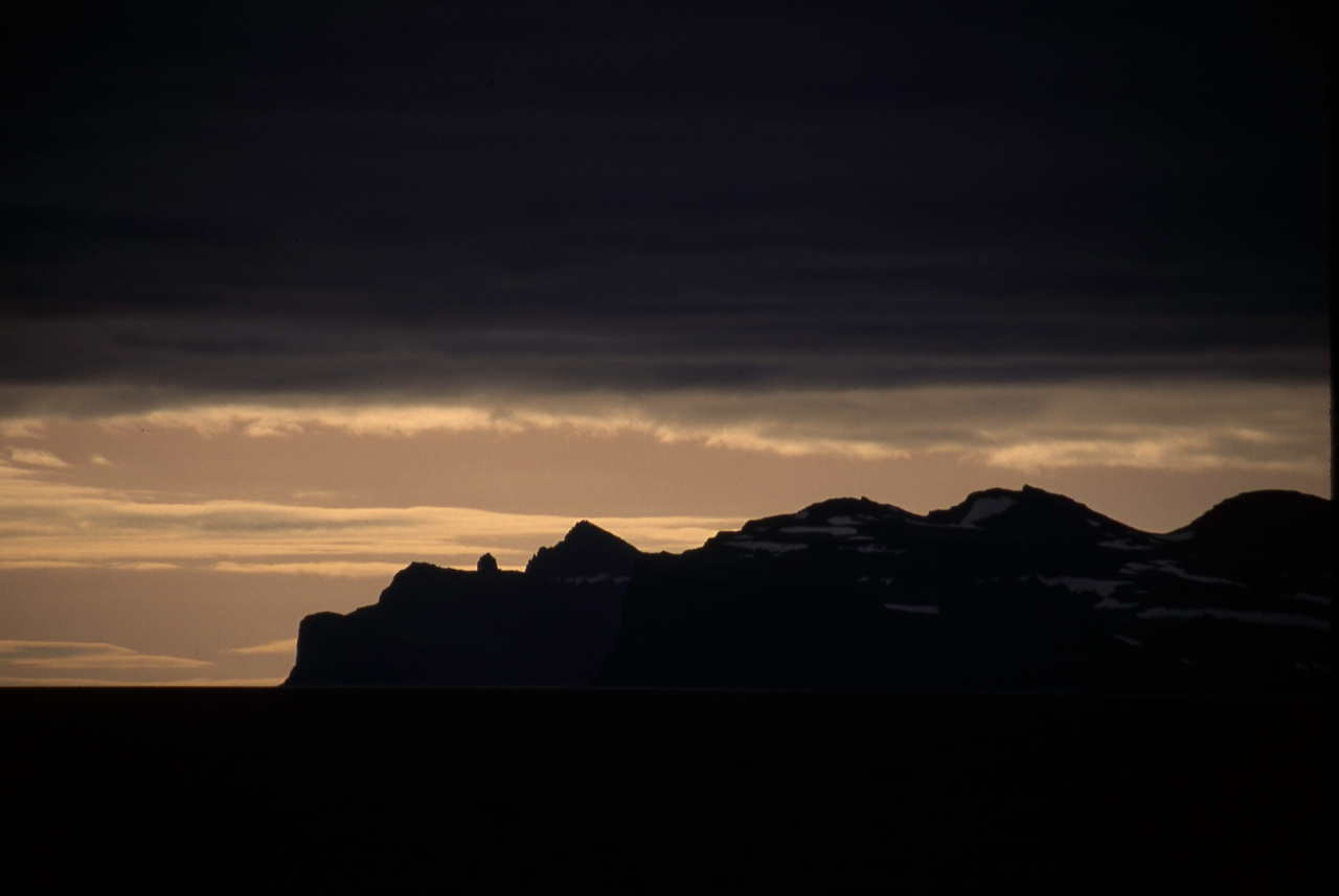 Sunrise Over Svalbard